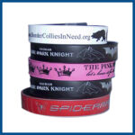 usa made custom rubber wristbands