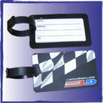 Custom Luggage Tag. Front and Back.