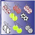 Sports_Earrings