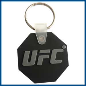 rubber PVC keychains