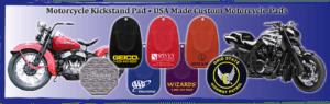 PVC Rubber Kickstand Pads