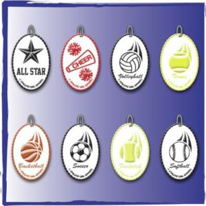 Stock Zipper Pulls Sport