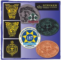 Custom Patches with VELCRO® brand fasteners