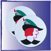 Budget Silkscreen Coasters