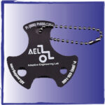key chain. special needs wheelchair