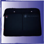 Adobe Label Heat Sealed to Victorinox Laptop sleeve