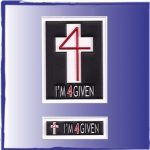 Custom Patches for Christian Clothing Line- I'm 4Given