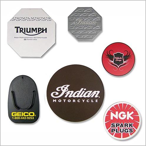 Custom kickstand pads