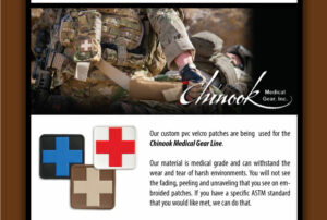 chinook custom label