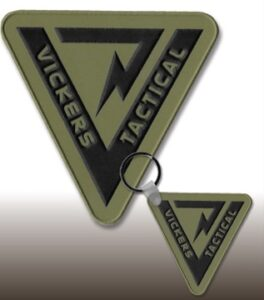 2-D Patches with VELCRO® brand fasteners
