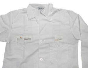 Shirt PVC labels