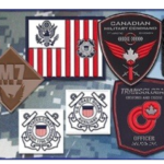 CustomPatch with VELCRO® brand fastenerses Made in USA