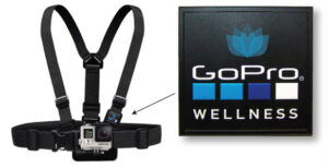 Waterproof PVC Label on Camera Chest Harness